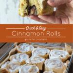 Quick & Easy Gluten-free Cinnamon Rolls