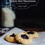 Ganache-filled, Gluten-free Macaroons