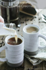 All-natural Coffee Creamers