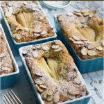 Gluten-free Cinnamon & Almond Pear Coffee Cake