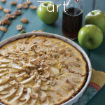 Apple Maple Tart {grain-free}