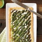 Gluten-free Feta Asparagus Tart