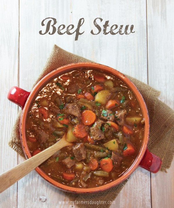 One Of Our Most Comforting Soups Of Winter Is This Beef Stew It S Thick And Rich And So Satisfying You Don T Even Need To Eat Bread With It