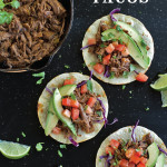 Spicy Shredded Beef Tacos