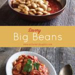 Savory Big Beans