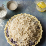 Gluten-free Blueberry Crumb Pie
