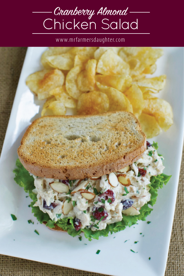 Cranberry Almond Chicken Salad Mr Farmer S Daughter