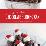 Chocolate Pudding Cake {gluten-free}