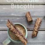 Triple Chocolate Biscotti {gluten-free}