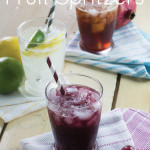 All Natural Fruit Spritzers