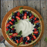 Creamy Fruit Tart with Shortbread Crust
