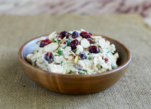 My Daughter And I Differ On How We Like Our Chicken Salad I Prefer Red Grapes And Walnuts But She Likes Craisins And Almonds They Re Both Really Good So