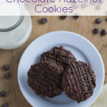 Chocolate Hazelnut {grain-free} Cookies