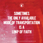 Motivational Monday {Leap of Faith}