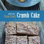 New York Crumb Cake {gluten-free!}