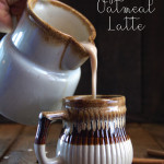 Spiced Oatmeal Latte