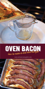 Oven Bacon {The simplest way to cook messy bacon}