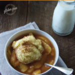 Gluten-free PA Dutch Peach Dumplings