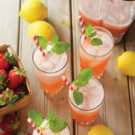 One-minute Strawberry Lemonade