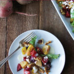 Sweet and Tangy Roasted Beet Salad
